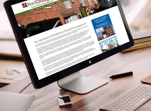 Bespoke Website Design - Neil Douglas