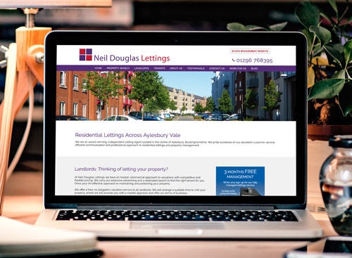 Bespoke Website Design - Neil Douglas Lettings